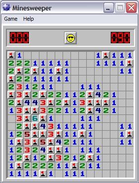 Minesweeper Selesai
