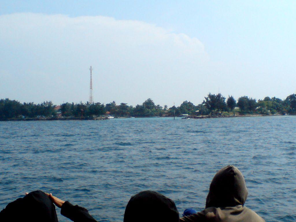 Hampir sampai di pulau Tidung