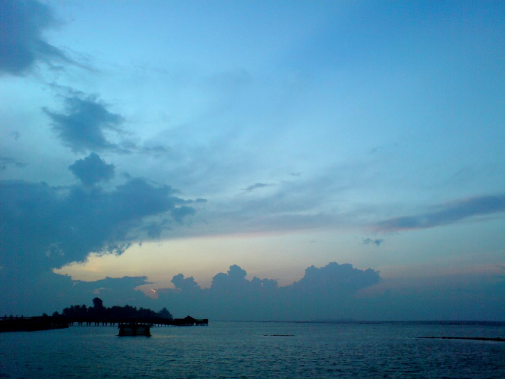 Sunrise di Atas Pulau Tidung Kecil