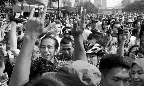 Jokowi Saat Kampanye, 2012