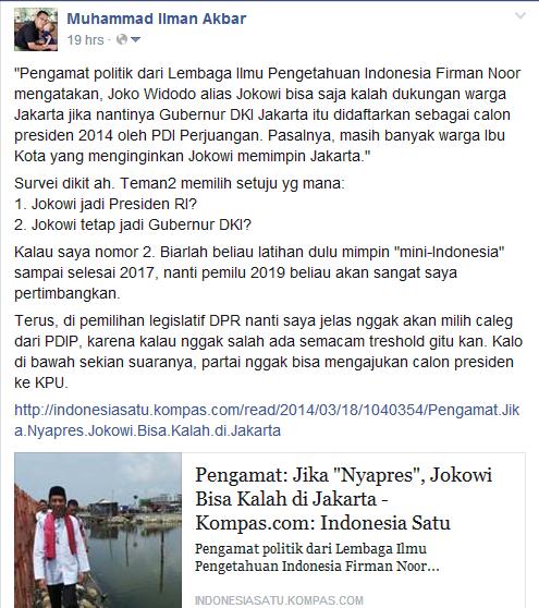 survei Jokowi