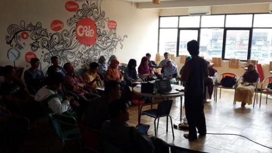 Sharing tentang Personal Branding di komunitas Selasar.com